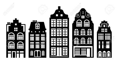 Kleurplaat Amsterdamse Huisjes by Kleurplaat Amsterdamse Huisjes Raamstickers 3 Huisjes