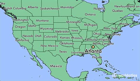 atlanta ga atlanta georgia map worldatlascom
