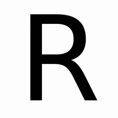 Bold Letters Letter Alphabet Transparent Background Dr