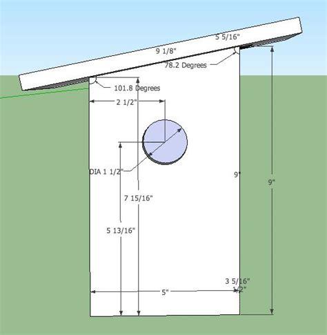 finch bird house plans woodwork