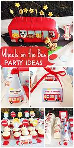 a wheels on the themed 1st birthday for a