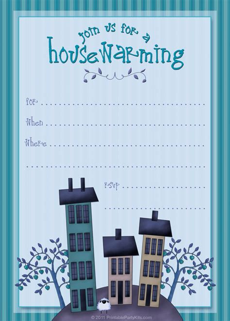printable housewarming party invitations printable
