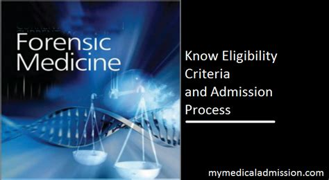 md forensic medicine admission  eligibility criteria