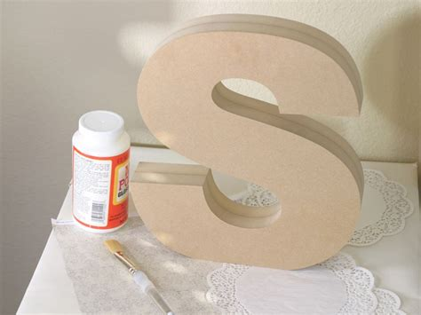Letter C Home Decor : Standing Wood Letters
