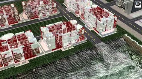 Architectural 3d Walkthrough Animation Township Project