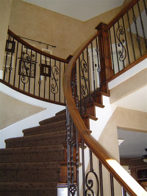 wrought iron banister country banisters remodeled alder banister w