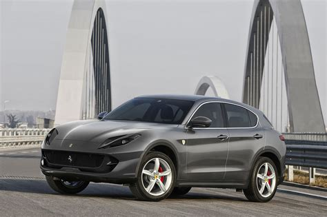 suv ferrari ferrari suv rendering looks hideously wrong carscoops