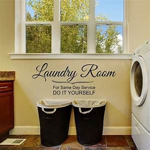 11 best laundry wall decals images on pinterest laundry With do it yourself vinyl lettering