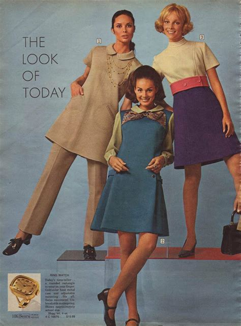 1960s Fashion Clothing Styles Trends Pictures And History