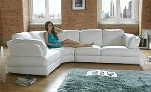Couchbezug Für Eckcouch : 30 ideen f r eckcouch aus leder sofas mit und ohne ~ Watch28wear.com Haus und Dekorationen