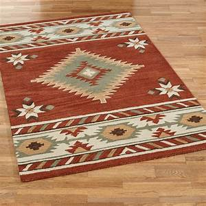 Cassidy southwest area rugs for Southwest rugs