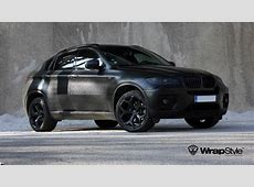 BMW X6 Wrapped in