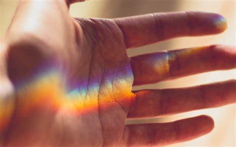 nx rainbow hand warm nature wallpaper