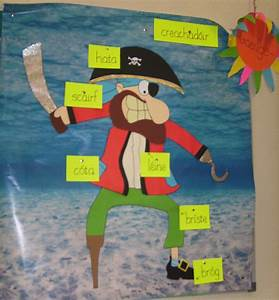 Labelled Pirate Classroom Display Photo