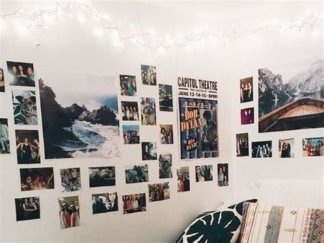 68 best dorm room ideas images on pinterest college life via pinterest.com. Dorm Room Photo Wall Ideas You Can Copy From Pinterest - Society19 in 2020   Dorm room, Dorm ...
