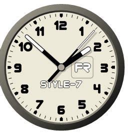 horloge sur bureau comment affichez une horloge sur votre bureau