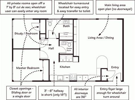 Handicap Accessible Modular Home Floor Plans Lovely