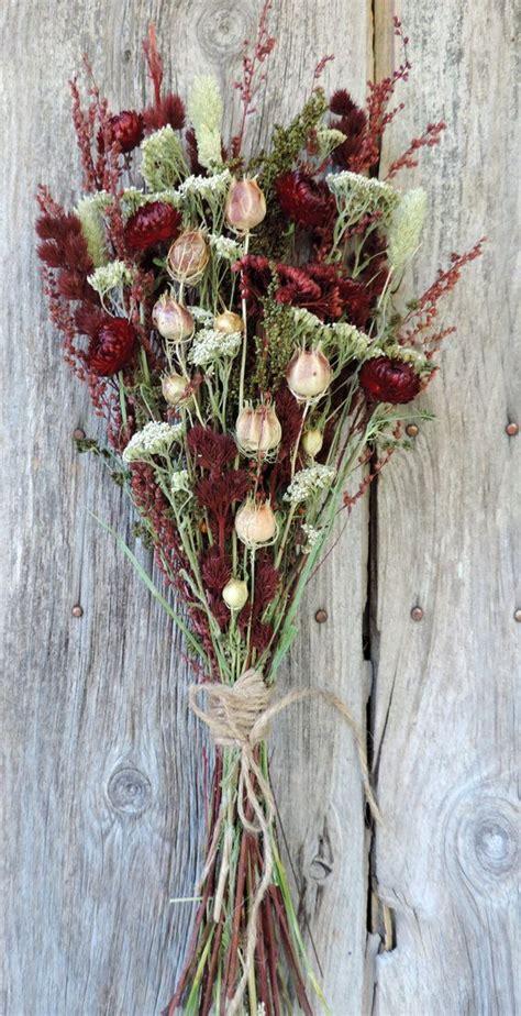 dried flower bouquet floral arrangement