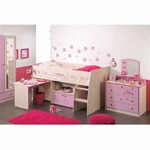 lit pour fille topiwall With déco chambre bébé pas cher avec tapis fleur lotus
