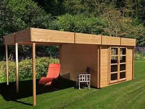 Abri De Jardin Avec Pergola : abri de jardin en bois 6x3 m 17 9 m avec pergola ~ Dailycaller-alerts.com Idées de Décoration