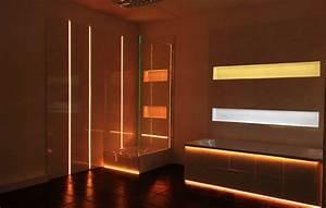 Beleuchtung Dusche Nische : led beleuchtung glas ortlieb gmbh ~ Yasmunasinghe.com Haus und Dekorationen