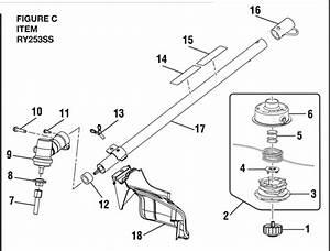 Ryobi String Trimmer Parts Online