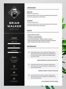10 best free resume cv templates in ai indesign word With cv template gratis