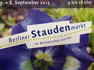 Garten Im September : staudenmarkt im botanischen garten in berlin landlebenslust ~ Whattoseeinmadrid.com Haus und Dekorationen