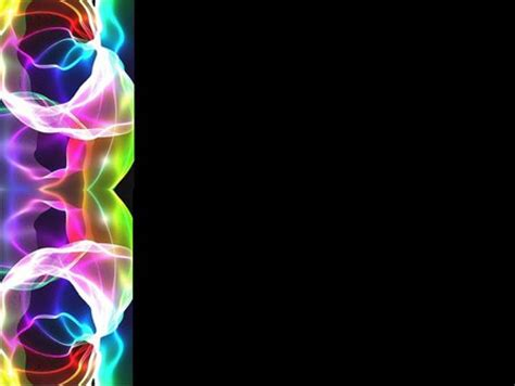Cool Border Wallpapers by Neon Left Border Background Other Abstract Background