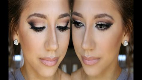 prom makeup  neutrals   color dress youtube