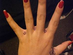 21 best Small Star Tattoos On Hand images on Pinterest ...
