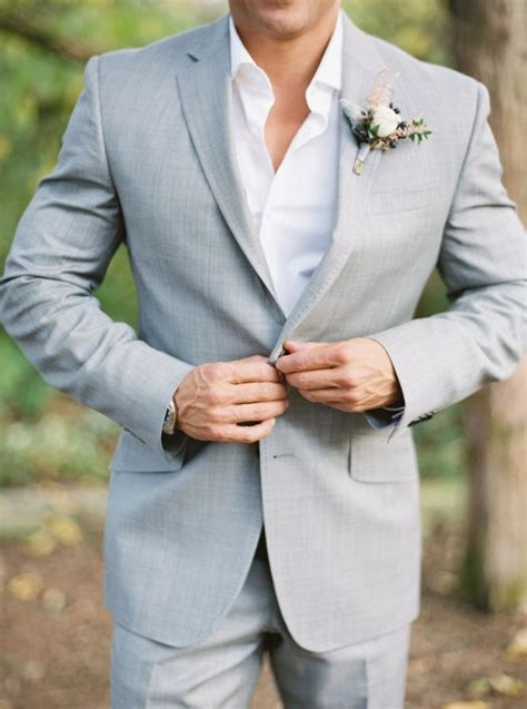 Latest Coat Pant Design Light Gray Custom Made Mens