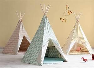 Tipi Pour Chambre : un tipi nobodinoz pour la chambre d 39 enfant blog d co ~ Teatrodelosmanantiales.com Idées de Décoration