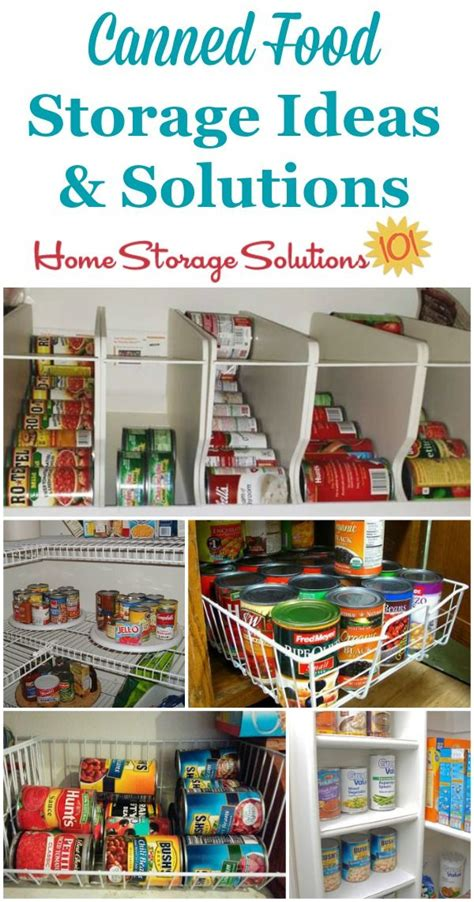 storage solutions for kitchen pantry can storage ideas solutions how to organize canned food 8381
