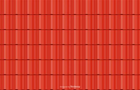 Red Roof Tile Vector Seamless Background  Download Free