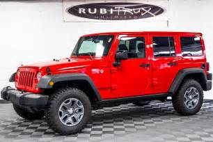 2017 Jeep Wrangler Unlimited Red