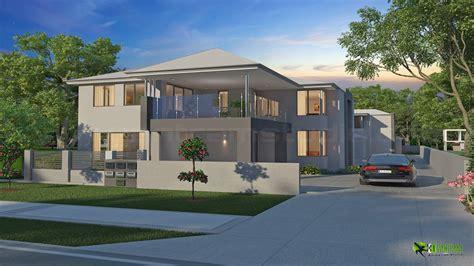 Modern Exterior 3d House Design Ideas By Yantram