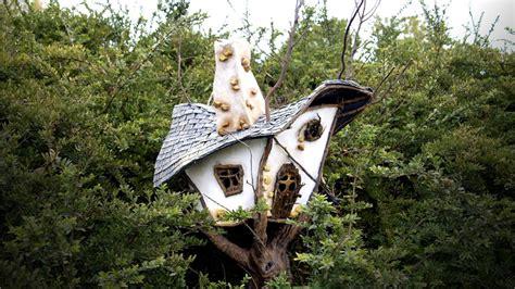fairy garden tree house tutorial diyideacentercom