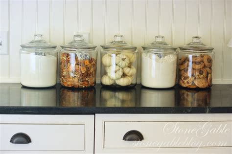 Country Kitchen Glass Jars by 10 Elements Of A Farmhouse Kitchen Stonegable