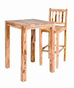 Table Cuisine Haute : table haute de bar amsterdam naturel ~ Teatrodelosmanantiales.com Idées de Décoration