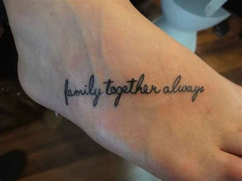 family   tattoo design meaningful family