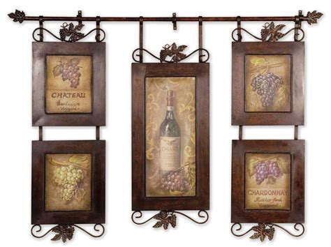 Italian Wall Decor For Kitchens - wine themed tuscan kitchen wall decor ideas home decor