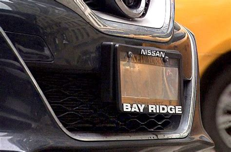 Are Some Police Officers Use Illegal License Plate Covers