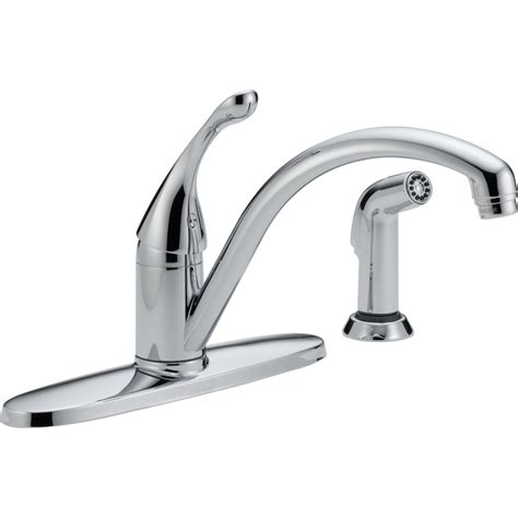 Delta Kitchen Faucet by Delta Faucet 440 Wh Dst Collins White One Handle With