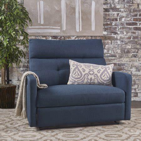 noble house hildegard fabric  seater reclinernavy blue