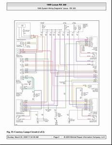 Lexus Rx300 Lights Wiring Diagram