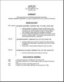 General Labor Resume Sles Free by 28 General Laborer Resume Skills General Labourer Resume