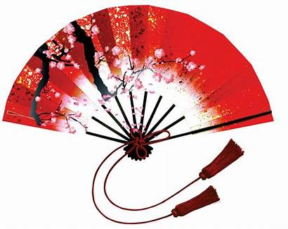 Chinese Clip Decorations Fan Clipart Printable Japanese