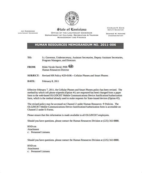 sample formal memo template   documents