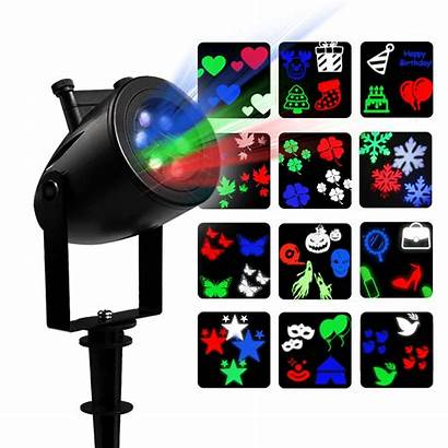 Lights Led Projector Projection Walmart Halloween Remote